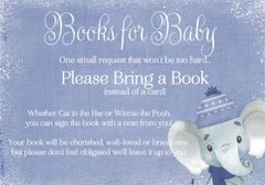 Books for Baby Winter Elephant