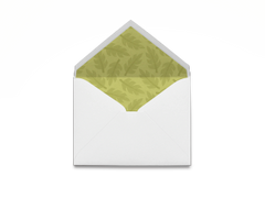 Green Leaves Envelope