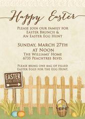 Happy Easter Brunch Invitation
