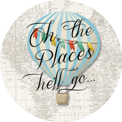 Oh the Places He'll Go Stickers