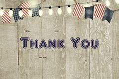 Fourth of July Thank You Card