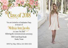 Class of Graduation Invitation