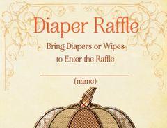 Diaper Raffle Pumpkin Spice