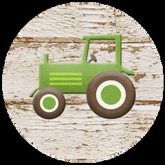 Farm Tractor Stickers
