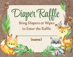 Diaper Raffle-Forest