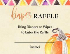 Diaper Raffle-Pumpkin