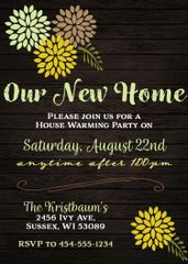 Our New Home Housewarming Invitation