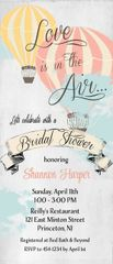 Love is in the Air Bridal Shower Invitation