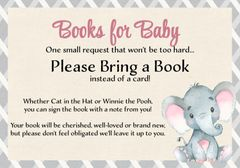 Books for Baby Elephant Girl