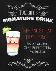 Halloween Signature Drink