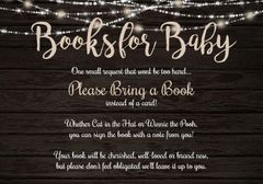Books for Baby Rustic Lights
