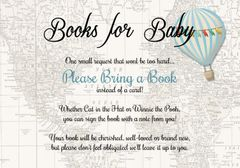 Books for Baby-Blue Hot Air Balloon