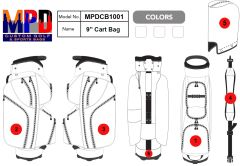 MPD Custom Cart Golf Bag