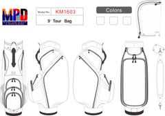 MPD Custom Tour Bag - Pro 1603
