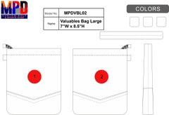 MPD Custom Golf Valuables Bag