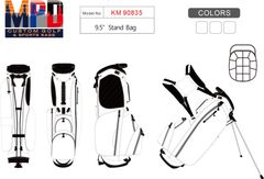 MPD Custom Golf Carry Stand Bag