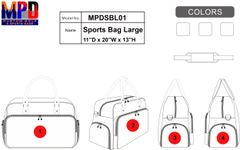 MPD Custom Golf Sports Bag
