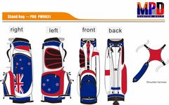New Zealand FlagBag Stand Bag