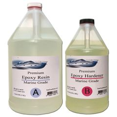 PREMIUM EPOXY RESIN KIT MARINE GRADE 1.5 GAL