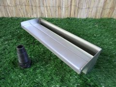 400mm Water Blade 60mm Spout Bottom Inlet