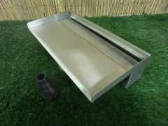400mm Water Blade 130mm Spout Bottom Inlet
