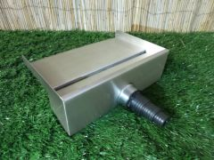 400mm Water Blade 130mm Spout Back Inlet