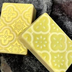(C1) Lime Bergamot Scented Soap - Sold out
