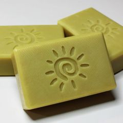 (N3) The Sun Soap - lemony scent created with essential oils