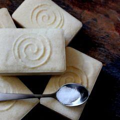 (F) 33% Mediterranean Salt Soap - Persian Lime, Rose Geranium & Lavender Scent