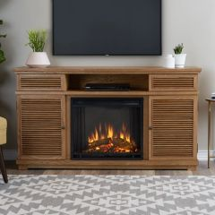 Real Flame Cavallo Entertainment Electric Fireplace