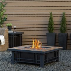 Real Flame Morrison Propane Fire Table