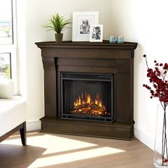 Real Flame Chateau Corner Electric Fireplace