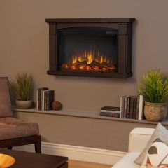 770E Brighton Slim Line Wall Hung Electric Fireplace