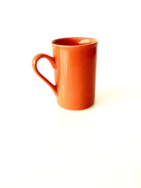 Bistro Style Tea Cup (Orange)