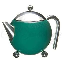 3 - Cup Tea Pot with strainer (Green)