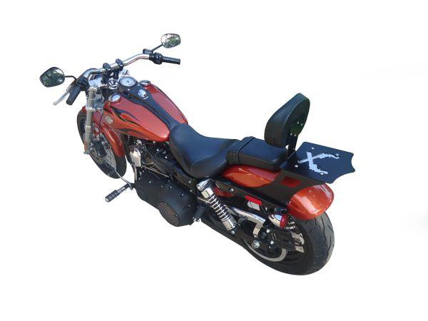 Harley Davidson Dyna Luggage Rack Backrest W/ Passenger Seat