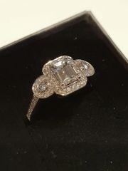 18ct White Gold Diamond Fancy Ring
