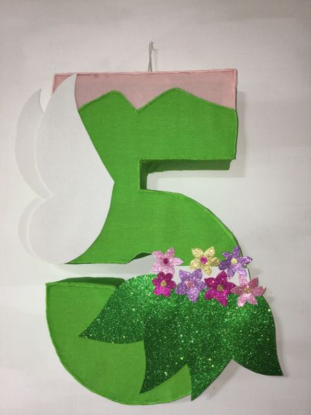 Tinkerbell Number 5 Themed Pinata Birthday Party Decorations