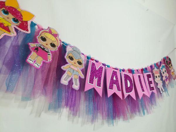 Lol Dolls Banner Tassel Garland Baby Dolls Aldi My Shop Party