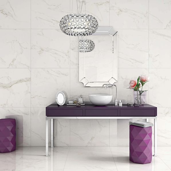 DECORATIVE TILE IDEAS/BATHROOMS