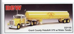 DCP GRANT COUNTY FIRE/RESCUE PETERBILT AND WATER TANKER.