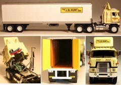 DCP J.B. Hunt International Transtar II COE 1/64 SCALE