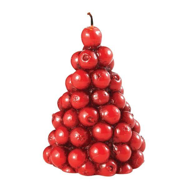 mud pie christmas cranberry tree candle - Mud Pie Christmas
