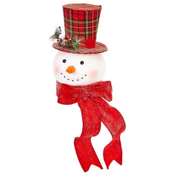 Raz Imports 14 75 Everything Merry Snowman Head Christmas Tree