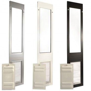Quick Panel 3 Pet Door For Patio Sliders Petdoorexpress