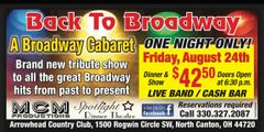 Back to Broadway - Aug.24th