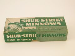 Nice Rare Green Shur Strike Lure Box ONLY