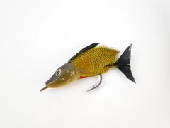 Unknown Wood Body Fly Fishing Lure