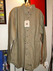 Woolrich Men's Fieldwear Long Sleeve XL Tall NEW! with TAGS Chamois Med Weight