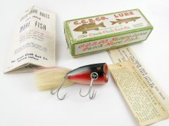 Creek Chub Plunking Dinger Dace Finish NEW IN BOX! Plus All The Goodies!